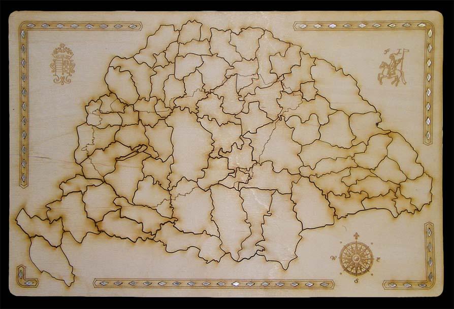 nagy magyarország térkép puzzle Fa kirakó, puzzle, Spanyolország, Olaszország, Franciaország  nagy magyarország térkép puzzle